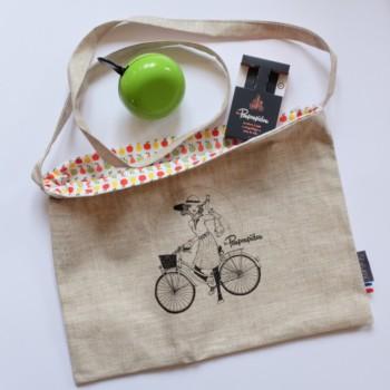 box a bicyclette et puis paulette verte